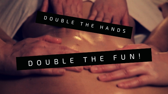 doube the hands double the fun asian 4 hands massage london