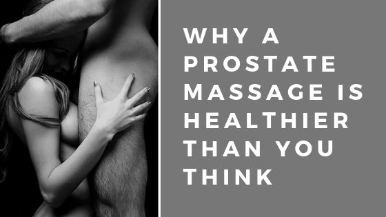 Prostate massage been given by a masseuse holding onto a mans body London central